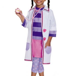 Deluxe Doc McStuffins Girls Costume