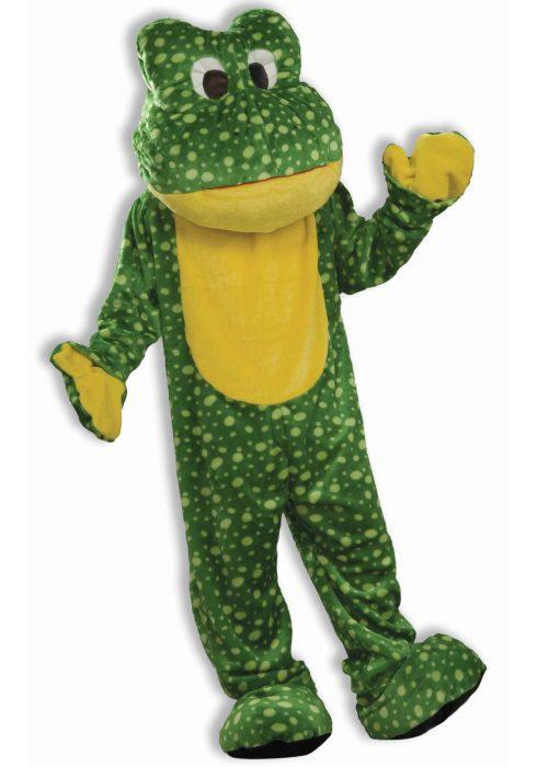 Deluxe Frog Mascot Costume