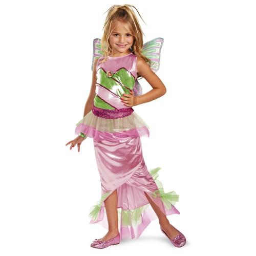 Deluxe Kids Flora Winx Costume