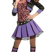 Deluxe Kids Monster High Clawdeen Wolf Costume