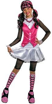 Deluxe Kids Monster High Draculaura Costume