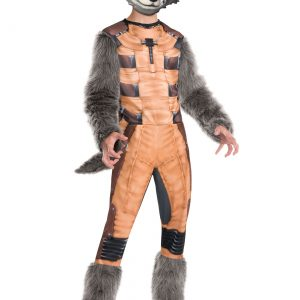 Deluxe Kids Rocket Raccoon Costume