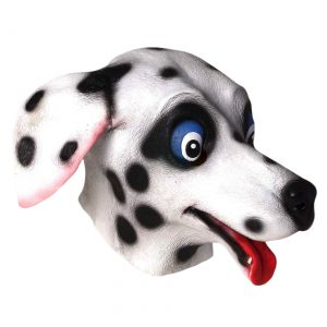 Deluxe Latex Dalmatian Mask