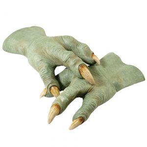 Deluxe Latex Yoda Hands