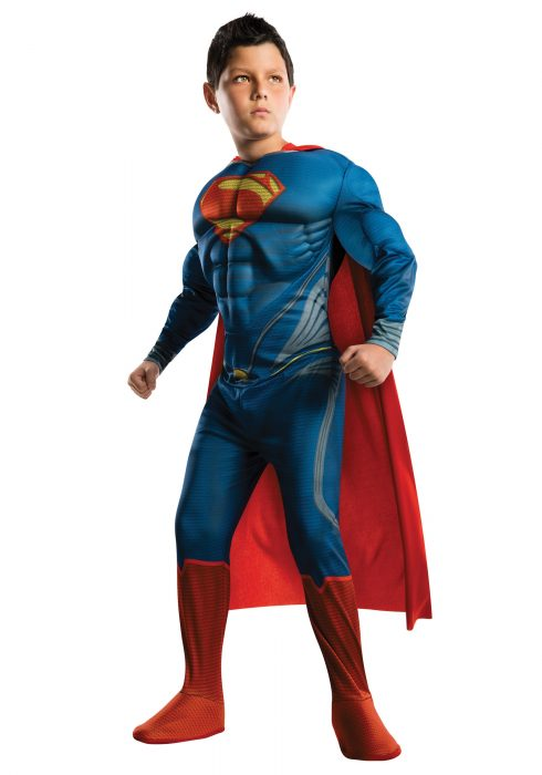 Deluxe Man of Steel Superman Child Costume