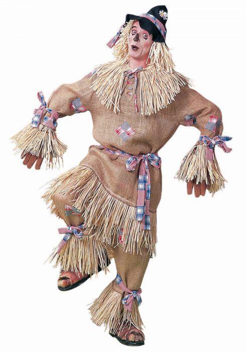 Deluxe Men's Scarecrow Costume