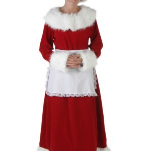 Deluxe Mrs Claus Costume