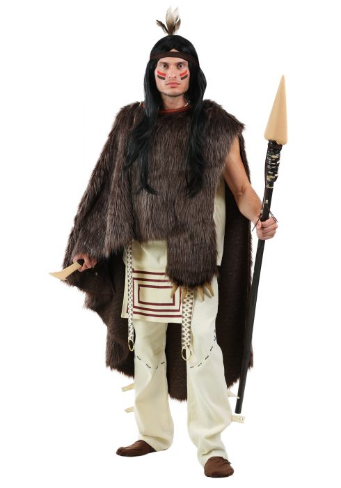 Deluxe Native Chief Mens Plus Size Costume