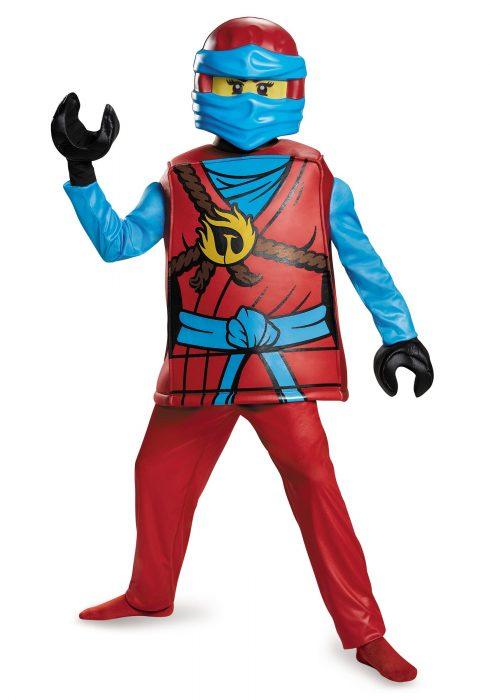 Deluxe Ninjago Nya Girls Costume