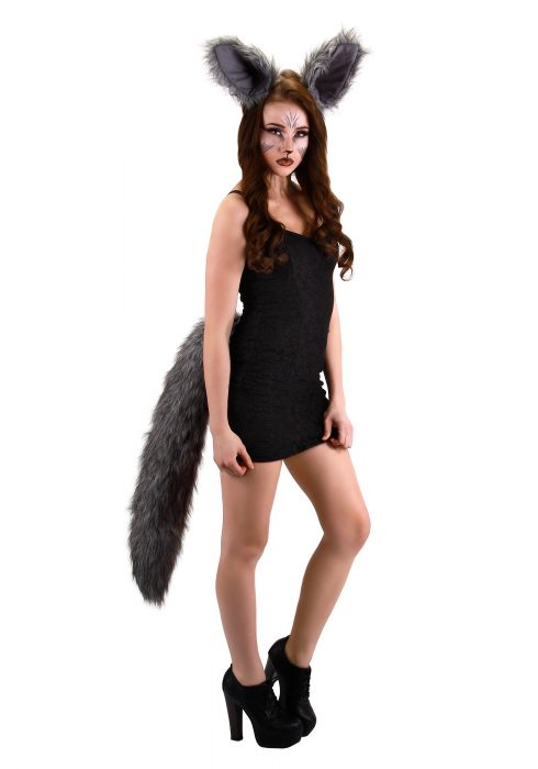 Deluxe Oversized Wolf Tail