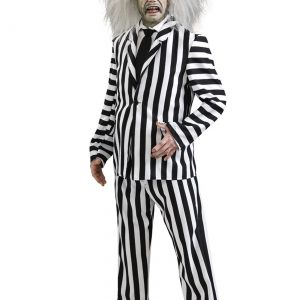 Deluxe Plus Size Beetlejuice Costume