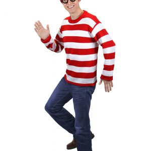 Deluxe Plus Size Where's Waldo Costume