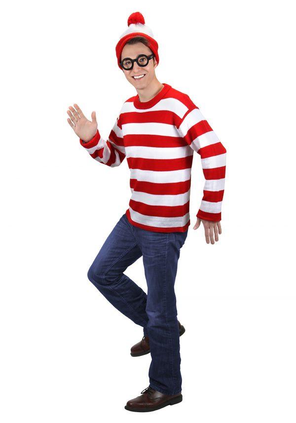 Deluxe Plus Size Where's Waldo Costume