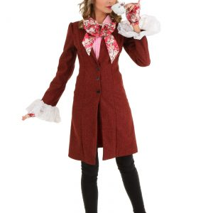 Deluxe Plus Size Women's Mad Hatter Costume