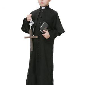 Deluxe Priest Boys Costume