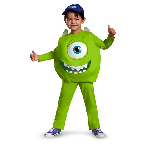 Deluxe Toddler Mike Monster University Costume