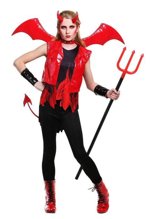Demon Fire Girls Costume