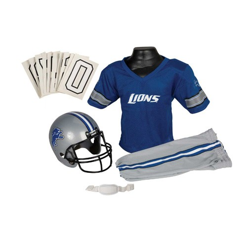 Detroit Lions Youth Uniform Set