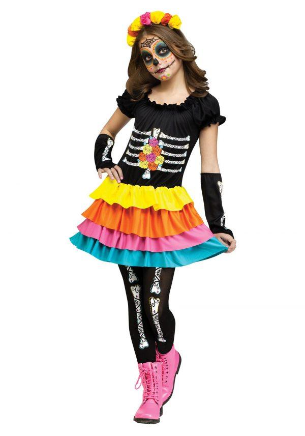 Dia De Los Muertos Child Costume