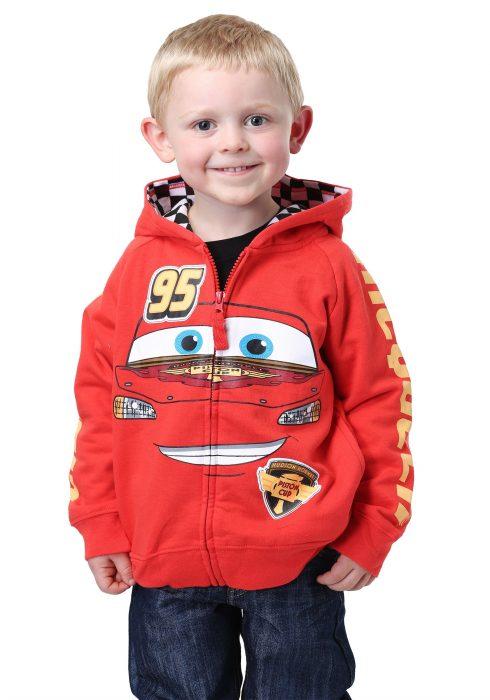 Disney Cars Lightning McQueen Kids Costume Hoodie