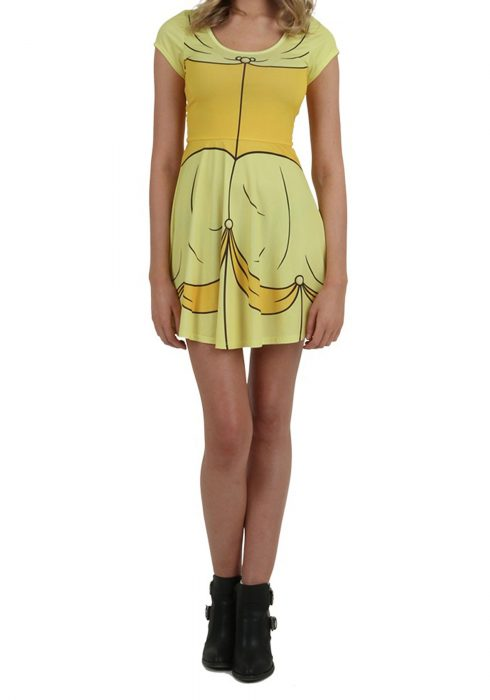 Disney I am Belle Skater Dress