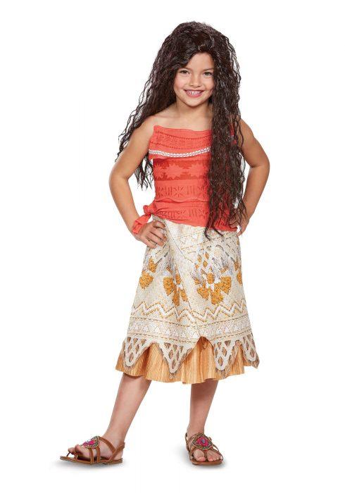 Disney Moana Classic Girls Costume