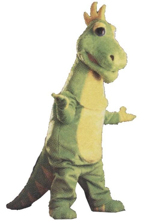 Dizzy Dinosaur Mascot Costume