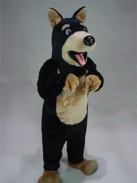 Doberman Mascot Costume
