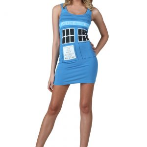 Doctor Who Police Box Tunic Tank