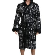 Doctor Who Time Lord Pattern Bathrobe