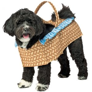 Doggie in a Basket Dog Costume