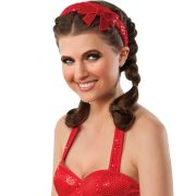 Dorothy Sequined Bow Headband