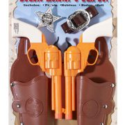 Double Holster and Gun Set
