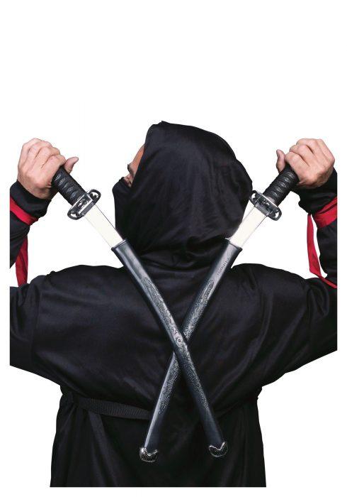 Double Ninja Swords