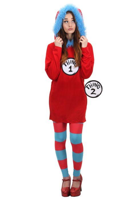 Dr. Seuss Thing 1&2 Dress