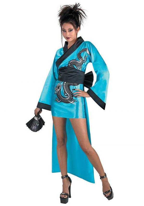 Dragon Geisha Girl Costume