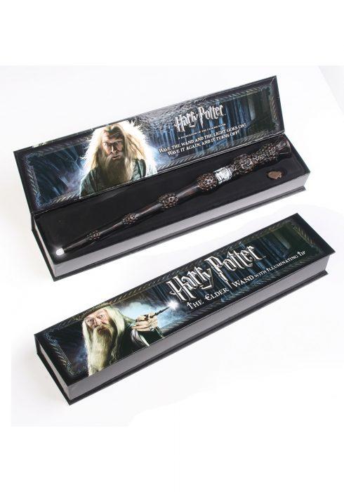 Dumbledore Illuminating Elder Wand