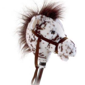 "Easy Ride 'Em 33"" Appaloosa Horse on a Stick"