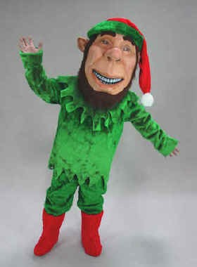 Elf Mascot Costume