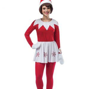 Elf on the Shelf Women's Costume