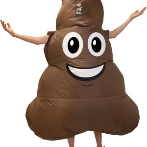 Emoji Inflatable Poop Adult Costume