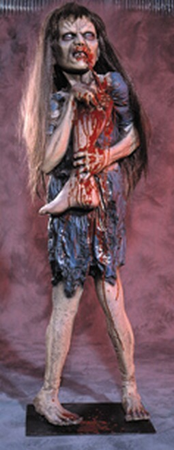 Evil Annie Haunted House Prop
