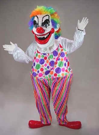 Evil Clown Mascot Costume