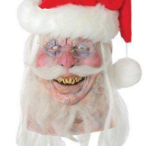 Evil Santa Claus Halloween Mask