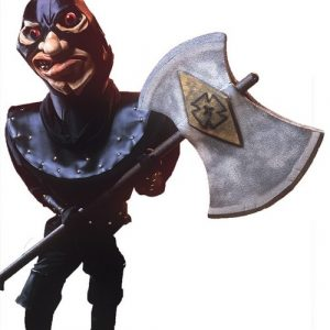 Executioner with Axe Mascot Costume
