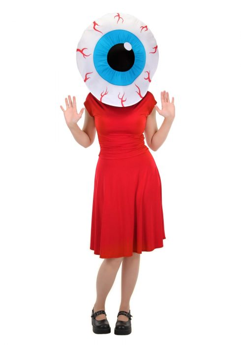 Eyeball MASKOT Head