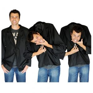 Falling Head Illusion Costume