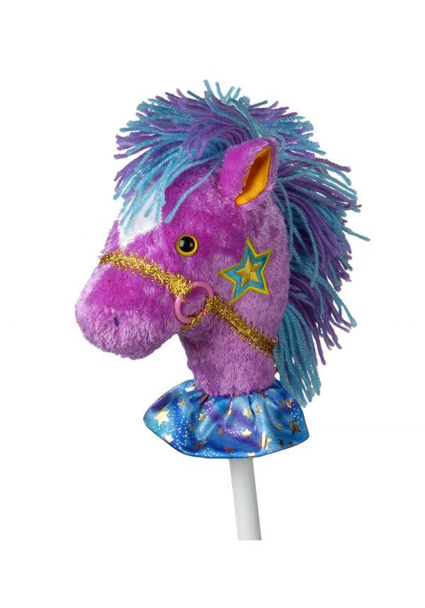 Fancy Prancer Precious Pony 33″ Horse on a Stick
