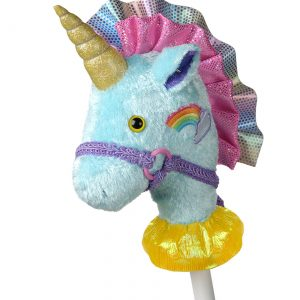 "Fancy Prancer Unicorn 33"" Horse on a Stick"