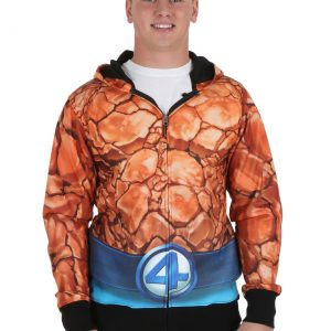 Fantastic Four The Thing Sublimated Costume Hoodie